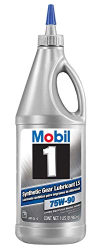 Diff Fluid - Mobil 1 104361-UNIT 75W-90 Synthetic Gear Lube - 1 Quart