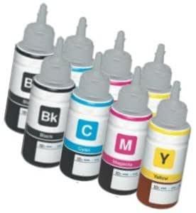 2X Set] 8 Cartuchos de Tinta compatibles para EPSON EcoTank ET ...