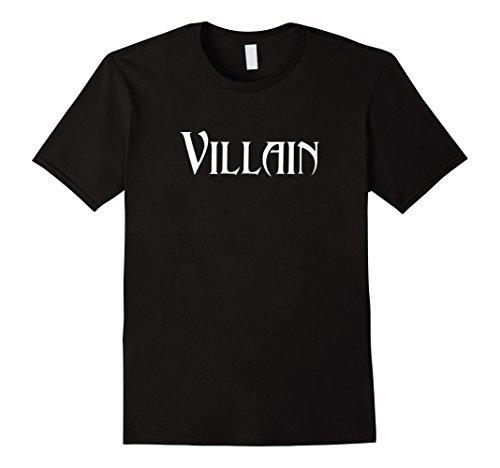 Mens Villain Halloween Costume Shirt Large (Heroes And Villains Costumes For Couples)