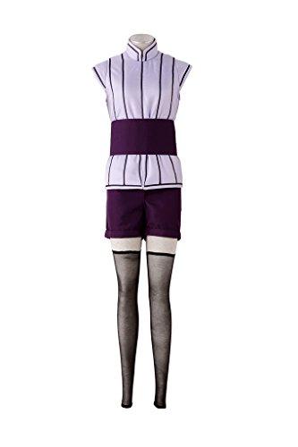 Mtxc Women's Naruto The last Cosplay Costume The last Hinata Hyuga Movie Ver. Size XXL-Plus Purple -