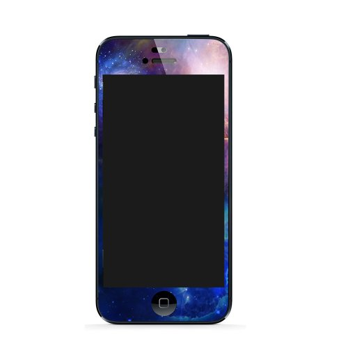 LOVEdecal 3D Black Carbon Fibre Full Body Skin Sticker IPhone 5 3M