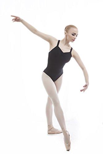 Dance Favourite Dance Leotards Ballet for Girls and Women Gymnastics Black Leotard 01D0036B (S)