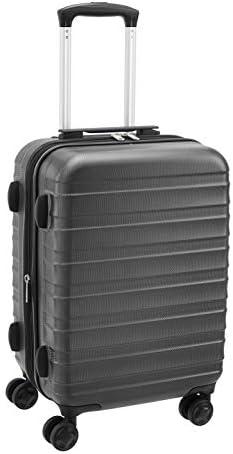 """Amazon Basics 20"""" ABS Luggage, Grey"""