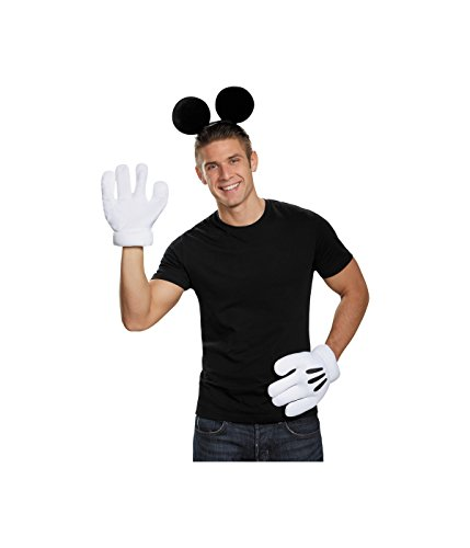 Mickey Mouse Ears With Gloves (Mickey Mouse Kit)