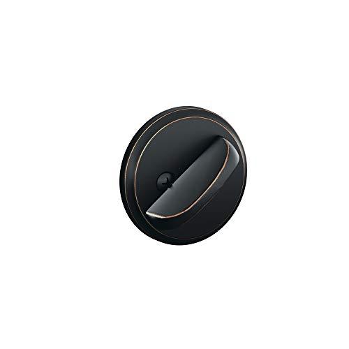 Schlage B80 716 12-287 10-116 134 N N SL One-Sided Deadbolt, Aged Bronze (Best Residential Deadbolt Locks)