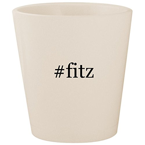 #fitz - White Hashtag Ceramic 1.5oz Shot ()