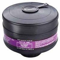 3M 453-00-01R06 Cartridge to Resist Organic Vapors/Dusts/Mists/Fumes/Asbestos/Radionuclides and Radon Daughters, Large, Black (Cartridge 00 Black)