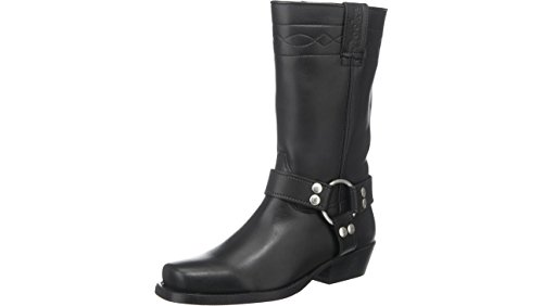 Nero By Dockers Gerli Biker 030140 002001 Boots Neri Nero UWzB8WZx