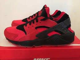 Nike Air Huarache Rot Herren