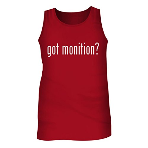 Tracy Gifts Got monition? - Men's Adult Tank Top, Red, XX-Large