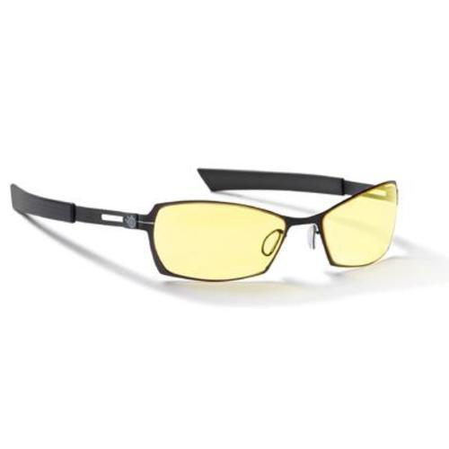 Gunnar Optiks SCO-04301 SteelSeries Scope Full Rim Advanced Video Gaming Glasses with Amber Lens Tint, Onyx/Carbon Frame - Face Glasses Shape For Choose