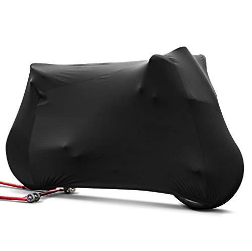 Motorrad-Abdeckung f/ür BMW R NineT//Pure//Scrambler M-L Indoor schwarz