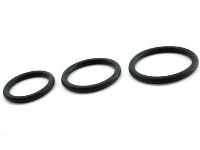 Cock-Ring-Nitrile-3pc-Set-Black-Package-Of-5