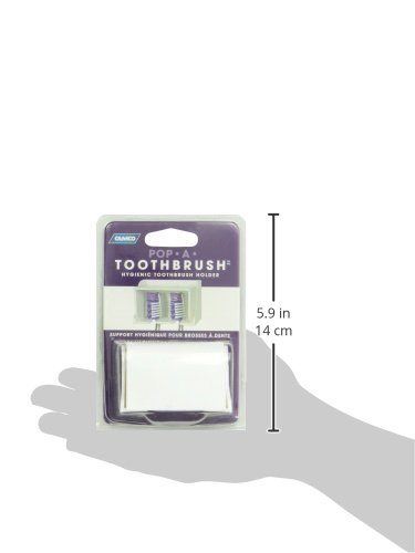 Camco 57203-A Pop-A-Toothbrush (White)