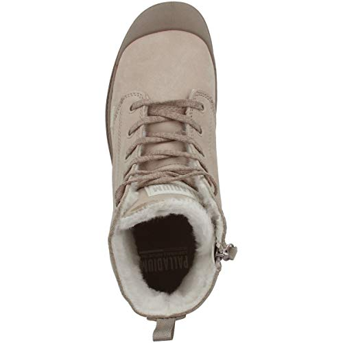 95982 Botines 071 Hi Pampa Wl Zip moonrock Palladium Feather Femme Gray 6pfzqxnZ