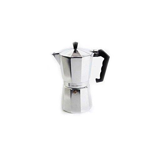 Mr. Coffee 6-Cup Traditional Stove Top Espresso Maker