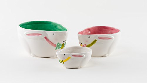 Easter Bowl (Ceramic Easter Bunny Snack Serving Bowls 5.75