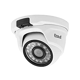 POE IP Camera Dome 2MP HD IP Dome with 24Leds, IP Security Camera Night Vision 65ft, Motion Detection, Weatherproof IP66 Indoor Outdoor ONVIF Supports, Home Surveillance Camera