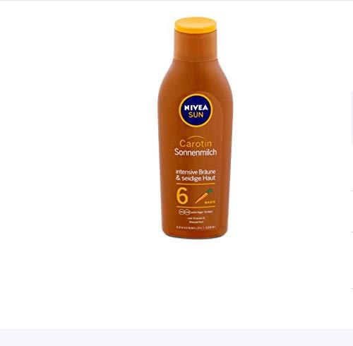 Nivea Sun Carotene Suntan Lotion SPF 6 200 ml