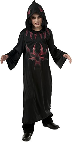 [Halloween Concepts Child's Black and Red Devil Robe, Small] (Group Family Halloween Costumes 2016)