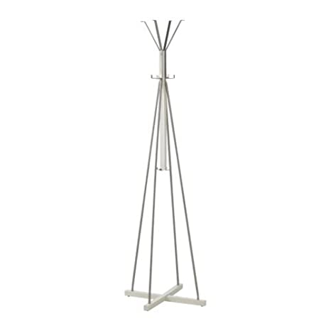IKEA TJUSIG - Hat y perchero, blanco - 191 cm: Amazon.es: Hogar
