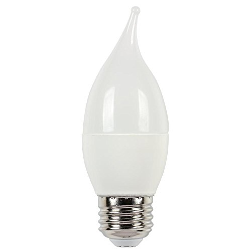 Westinghouse 0512500 60W Equivalent C13 Soft White LED Light Bulb with Medium (Westinghouse Lighting Standard Chandelier)