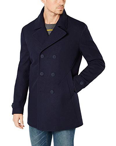 Tommy Hilfiger Mens Modern-Fit Yale Water Repellent Peacoat 40 Regular Indigo
