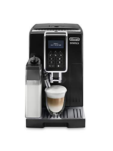 De'Longhi Dinamica Ecam 350.55.B Volautomatische Espressomachine, Met Melksysteem, Digitaal Display Met Duidelijke Tekst…
