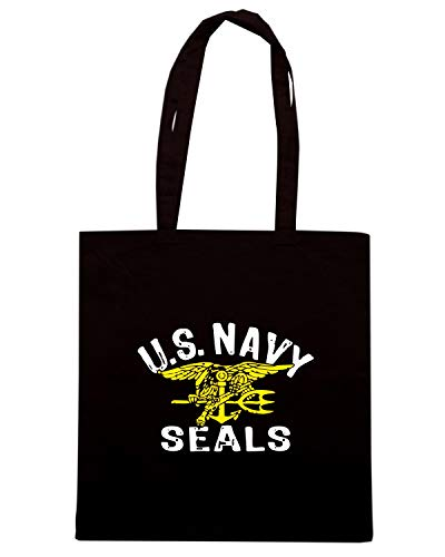 Shirt OLDENG00705 SEALS Speed Borsa Shopper Nera US NAVY TAx4pxwd