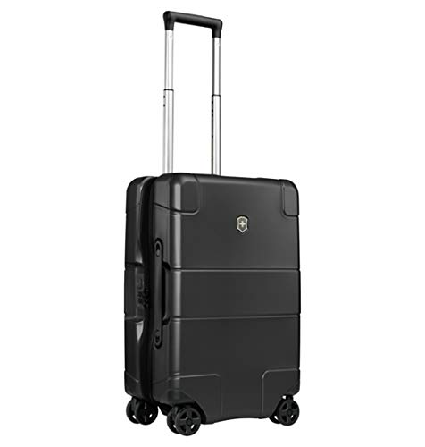 (Victorinox Lexicon Hardside Frequent Flyer 8-Wheel, Black)