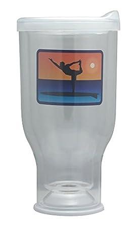 Mi favorito vaso - SUP Yoga macho transparente: Amazon.es: Hogar