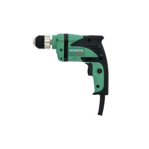 Factory-Reconditioned: Hitachi D10VH 6 amp 3/8-Inch Drill with Keyless Chuck