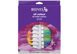 Reeves Fine Oil Colours Sets set of 24 (24 Colour Set)