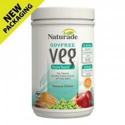 Naturade Veg Protein Booster Soy-Free Natural Flavor, 14.8 Ounce