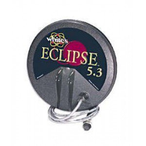Whites Eclipse 5.3 (6x6) Search Coil for Spectra V3, DFX™, MXT™, and M6 Metal Detectors.