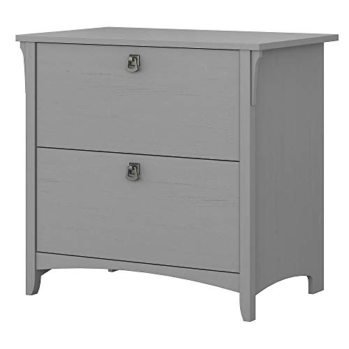 Bush Furniture Salinas Lateral File Cabinet in Cape Cod Gray ()