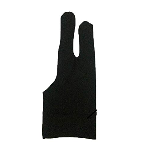 Orcbee  _Two Finger Anti-fouling Glove Drawing & Pen Graphic Tablet Pad for Artist Black ()