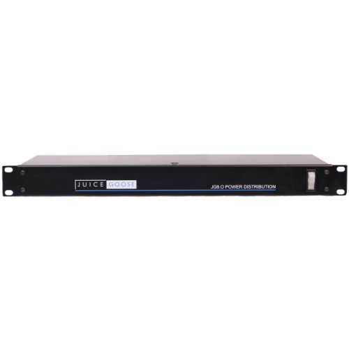 Juice Goose JG 8 Rack-Mount Power Distribution Center, 15 Amps by Juice Goose