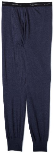 Duofold Men's Midweight Bottom, Navy, X-Large (Jersey Cotton Duofold)