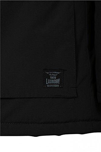 Laundry Parka Abrigo Negro para Manga Hombre Tokyo Larga 4qEndEW