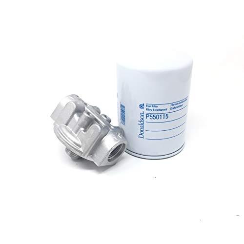 Fuel Filter Kit Donaldson P561136 Head & P550115 Filter Fuel Transfer Pump/Tank