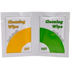 Dealsjungle Anti Static Screen Cleaning Wipes, Dry and Wet Sheets (16 - Hut Sunglasses Outlet