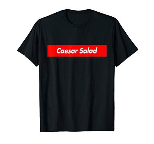 Caesar Salad Logo Parody Funny T-Shirt
