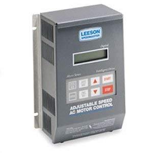 Leeson Single Phase to Three Phase Inverter 3 hp 230V # 174934
