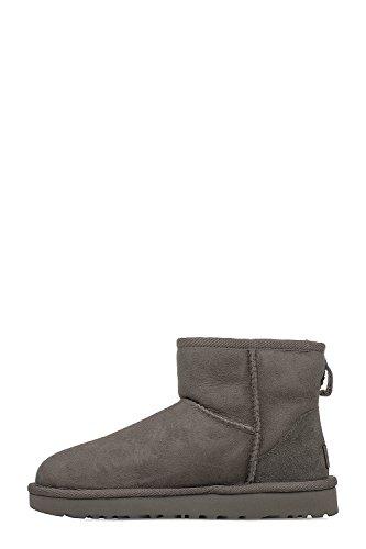 UGG Women's Leather Grey Boots UGSCLMGY1016222W Ankle UUqHrwZ