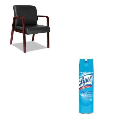 KITALERL4319CRAC04675EA - Value Kit - Best Reception Lounge Series Guest Chair (ALERL4319C) and Professional LYSOL Brand Disinfectant Spray (RAC04675EA)