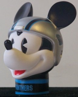 NFL 2 Carolina Panthers Mickey Mouse Antenna ToppersSALE Wincraft