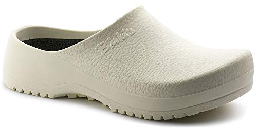 Birkenstock Super Birki 068021 - White (Synthetic) Womens Clogs 40 EU