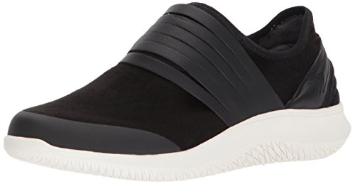 Dr. Scholl's Shoes Women's Foxy Sneaker, Black Microfiber, 9 Medium US