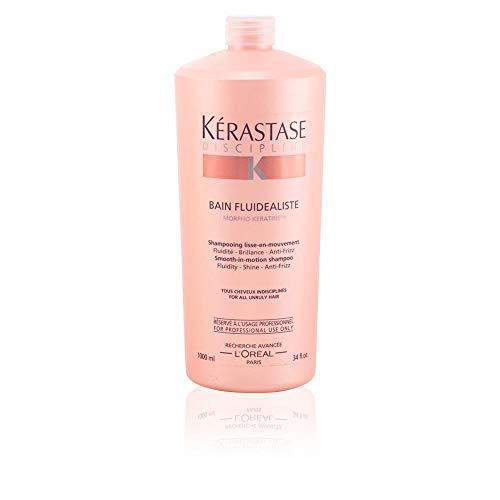 Discipline Bain Fluidealiste Smooth-in-Motion Shampoo for Unisex, 34 oz